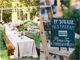 Backyard Rustic Wedding by 33 Backyard Wedding Ideas
