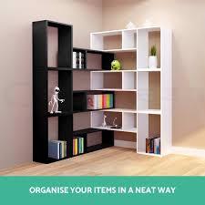 display l shape cube shelf diy sidetable cabinet storage corner