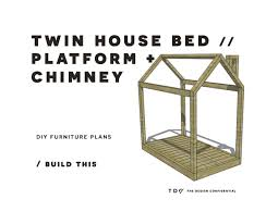Twin House Plans You Can Build This The Design Confidential Diy Furniture Plans