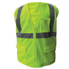 Construction High Visibility Clothing 3m High Visibility Yellow 2 Tone Reflective Construction Safety