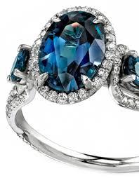 blue gemstones rings images Guide to gemstones colors meanings wixon jewelers jpg