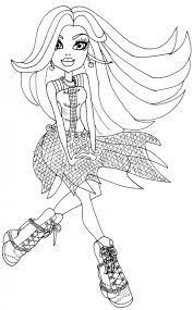 free printable monster high coloring pages floating spectra