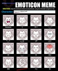 Meme Faces Text - the grim dark emoticons siri should have potd spikey bits