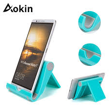 aokin universal flexible desk stand phone holder for ipad iphone 7