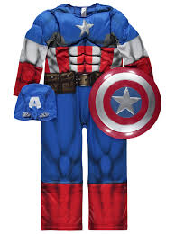 halloween costumes captain america marvel captain america fancy dress costume kids george at asda