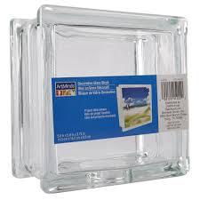 artminds decorative glass block 5 6 x 5 6 x 3 75