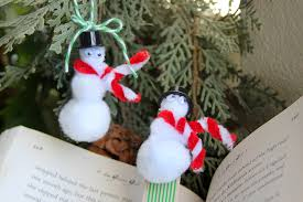 simple snowman ornament craft