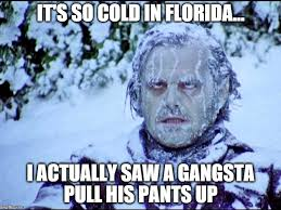 So Cold Meme - cold in florida imgflip