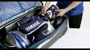 motocross gear bag yamaha racing gear bag xl youtube