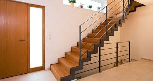 treppen stahl holz treppe geländer stufen treppenbauer holz design in dreieich