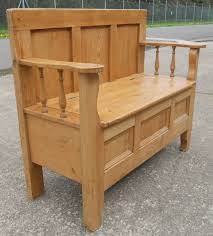 pine bench for kitchen table top modern pine bench with storage household designs seat drawers