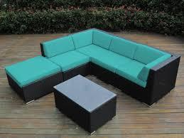 collection 6pc sunbrella outdoor sectional sofa set