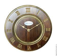 clock buy classic wall clock wood vintage a shop online on livemaster