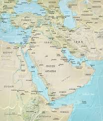 Middle East Countries Map by Middle East Map Turkey Iran Iraq
