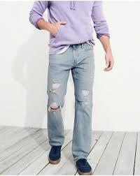 hollister light wash jeans guys jeans hollister co