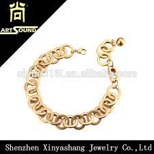 ladies gold chain bracelet images Wholesale best friend chain gold bracelet design for girls buy jpg