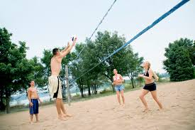 regulation height for a volleyball net livestrong com