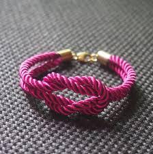 cord rope bracelet images Knotted silk rope bracelet tutorial by veronica handmade jpg
