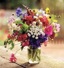 jar flowers jar flower arrangments