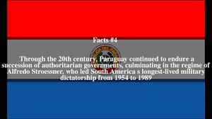 Paraguayan Flag Paraguay Top 8 Facts Youtube