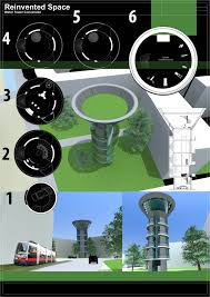 reinvented space water tower conversion concept design