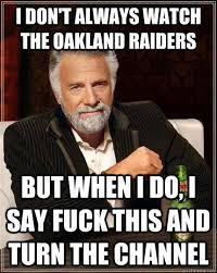 Funny Raiders Meme - nfl is here let the smack commence page 130 for b bodies