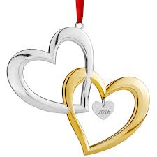 our ornament 2016 hearts nambe silver superstore