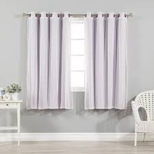 Rust Colored Curtains Interior Lavender Blackout Curtains With Sheer Valance For Window