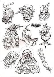 new school tattoo drawings black and white s media cache ak0 pinimg com 736x 66 46 83