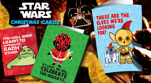 wars christmas wars christmas cards costume discounters