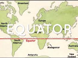 Equator Map South America by Map Skills Vocabulary By 32573