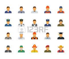 berufe mit design menschen berufe und berufe symbol im flachen design 3 lizenzfrei