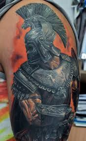 dmitriy samohin u2013 armored warrior tattoo u2013 the best realistic