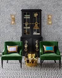 Jonathan Adler Drapes Emerald With Envy View More Jonathan Adler Furniture Lighting