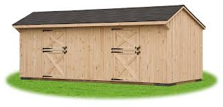 gambrel roof garages quality horse barns pine creek structures