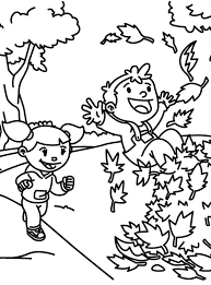 kids love autumn fall leaves coloring pages batch coloring
