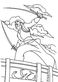 sinbad coloring pages for kids printable free sinbad legend of