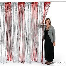 Silver Foil Curtains Silver Foil Fringe Door Curtain