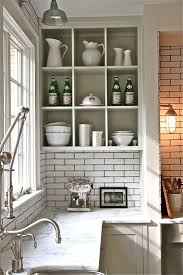 Kitchen Open Shelving Ideas 13 Best Kitchen Images On Pinterest Open Shelves Home And
