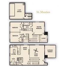 Luxury Apartment Floor Plans 2 Bed 2 5 Bath Apartment In Orlando Fl Harbortown Luxury