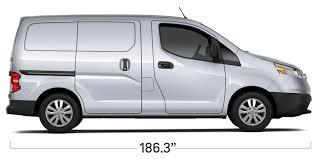 Chevy Traverse Interior Dimensions 2017 City Express Small Cargo Van Chevrolet