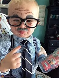 Baby Boxer Costume Halloween Grandpa Baby Costume Sons Creative Costumes