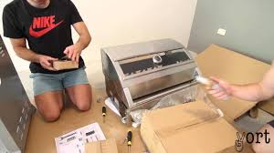 Patio Master Grill by Patiomaster 4 Burner Bbq Unboxing Assembly Youtube