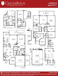 three car garage floor plans laguna ii 3 car gold home plan by castlerock communities in