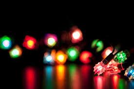 Christmas Light Template Christmas Lights Powerpoint Template Christmas Tree Lights