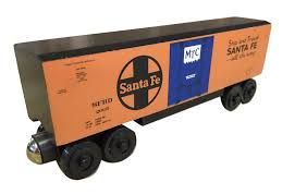 box car train santa fe hi cube boxcar u2013 the whittle shortline railroad wooden