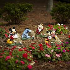 Lawn And Garden Decor Disney Garden Rock Mickey And Minnie Limited Availability