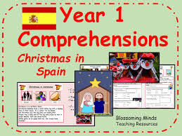 year 1 christmas comprehension bundle by blossomingminds