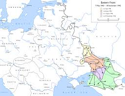 Map Of Ww2 Europe by Stalingrad Map My Blog