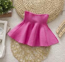 dress design umbrella brand design new fall winter knitted toddler girl umbrella skirt